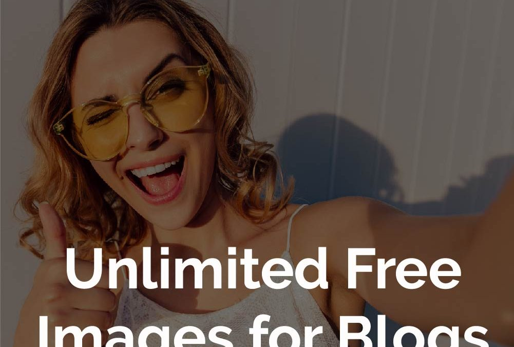 Unlimited free images for blogs